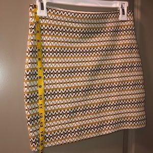 Express Skirts - Express Geometric Print Knit Skirt